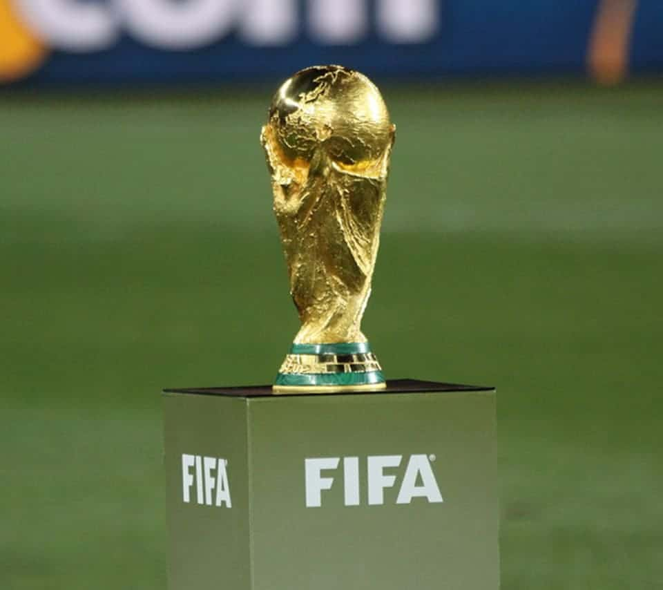 The solemn and sacred World Cup Trophy (1)