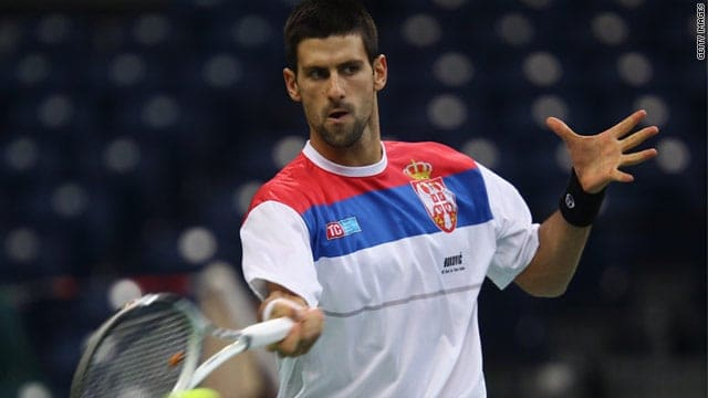 Djokovic is Not Coming to India for Davis Cup