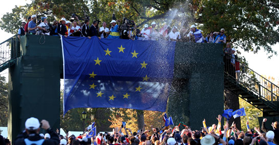 Top 5 Europe Players in Ryder Cup Ever