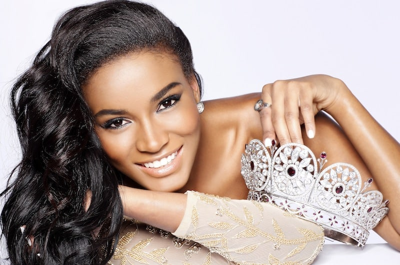 Miss Universe 2011 Leila Lopes - Retouched for Glamor