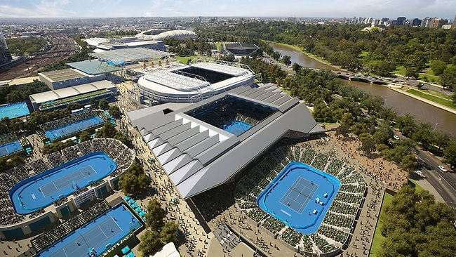 Australian Open might be played entirely indoors