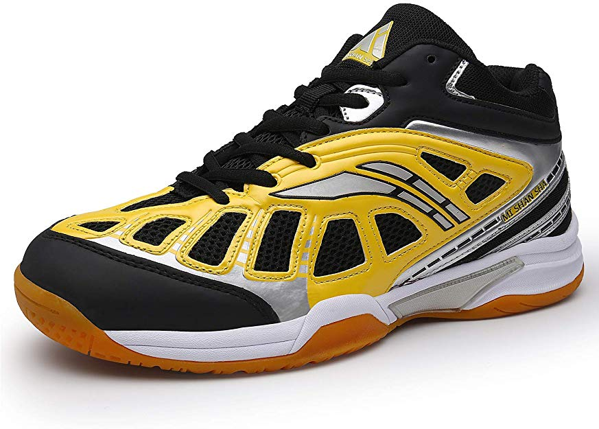 Mishansha Men's Court Squash Badminton Shoes