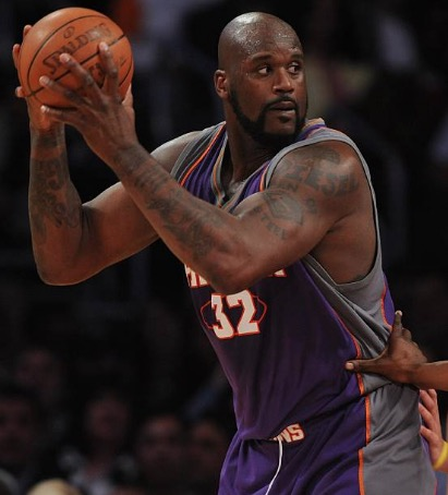Shaquille O'Neal Playing for the Phoenix Suns (2008–2009)