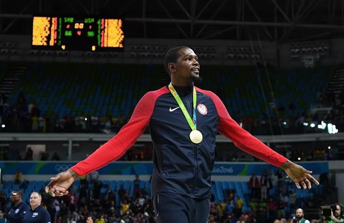 Kevin Durant wins Olympic gold in London 2012