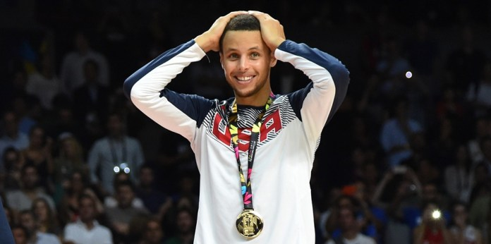 Stephen Curry and the USA Men's National Team Won Gold in the 2014 FIBA