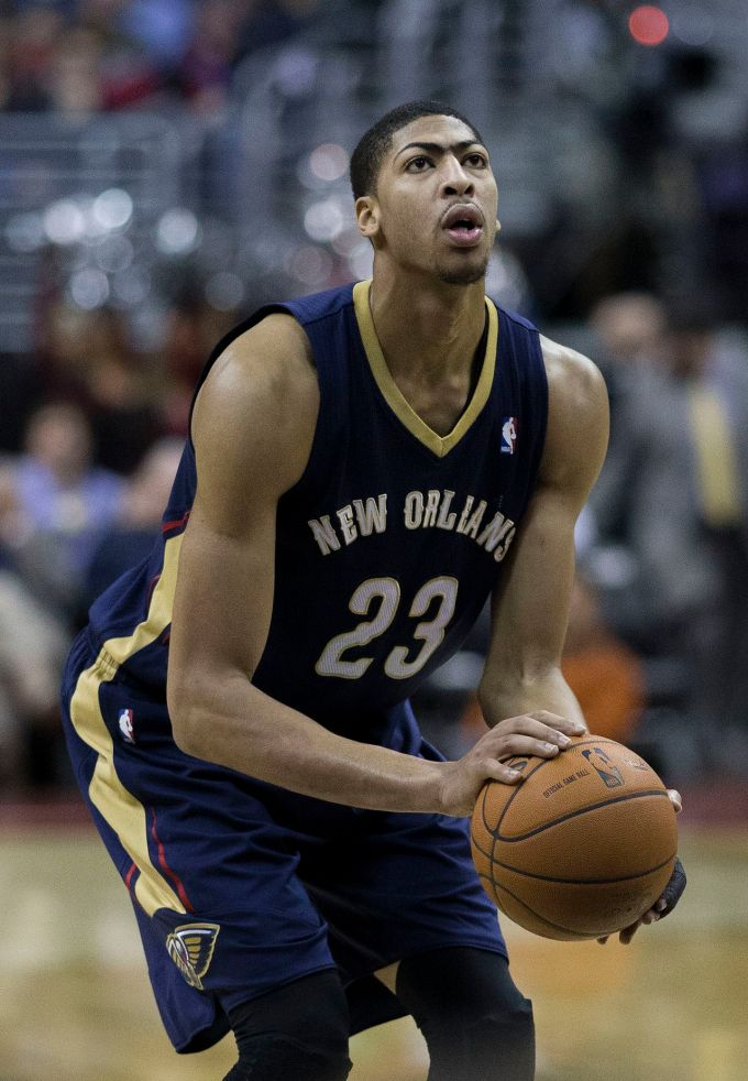Anthony Davis with the New Orleans 2014
