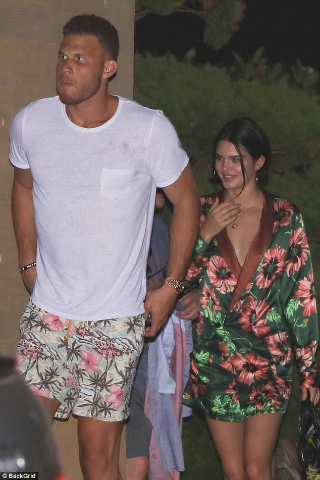 Griffin pictured with Kendal Jenner