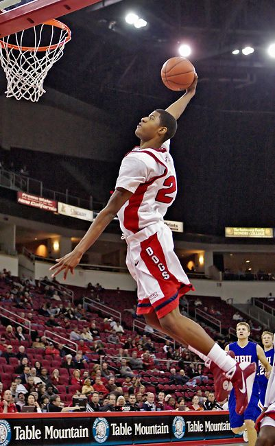 Paul George Dunks for Fresno State