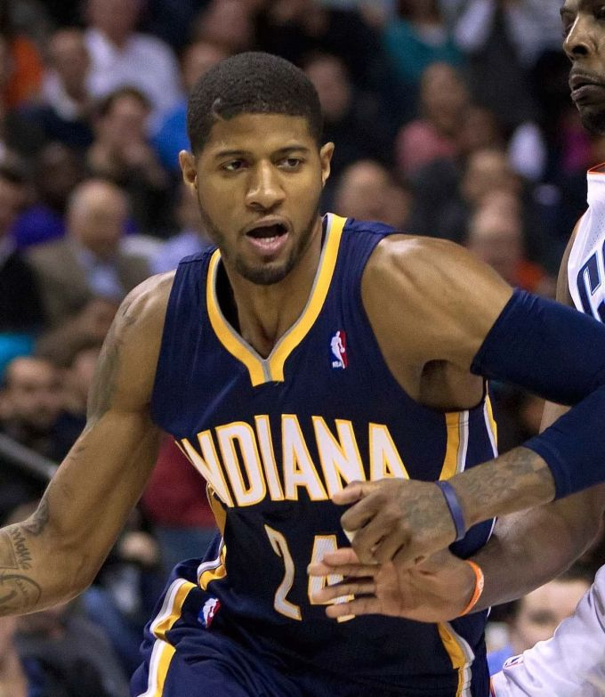 Paul George Nba Career With Indiana Pacers 2014