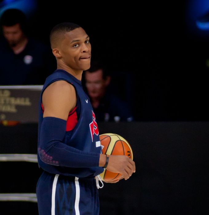 Russell Westbrook National Career with 2012 Team USA