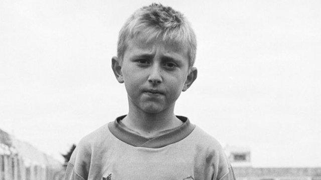 Luka Modric childhood photo