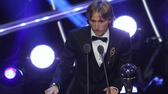 Luka Modric wins best player of year, 2018