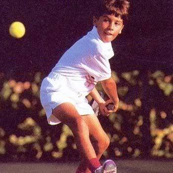 Rafael Nadal Childhood photo