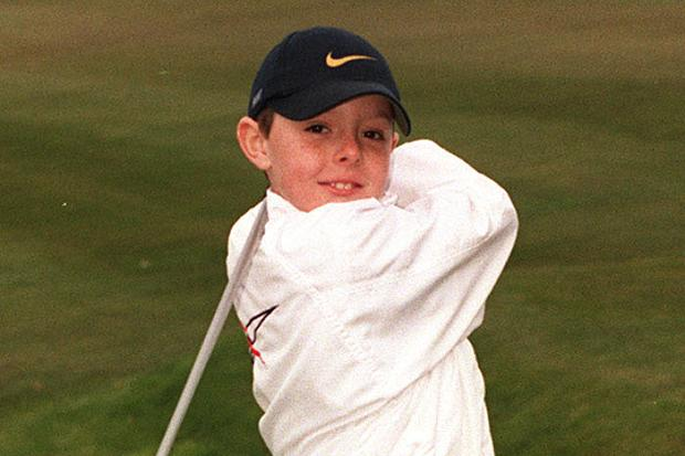 Rory McIlroy childhood photo