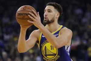 Klay Thompson Of Golden State Warriors