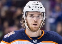 Connor McDavid of the Edmonton Oilers in 2019