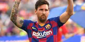 Lionel Messi of Barcelona FC