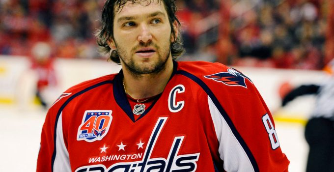 Washington Capitals' Alexander Ovechkin