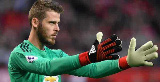 Photo of Manchester United's David De Gea