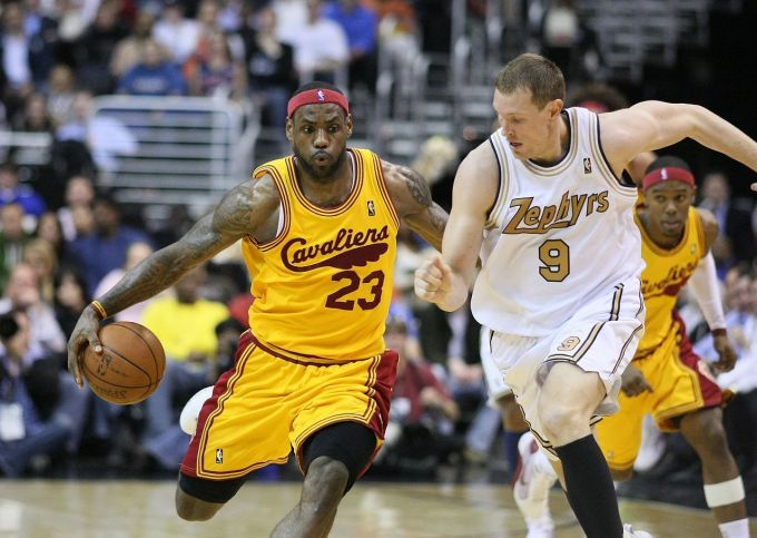 Basketball - NBA - LeBron James