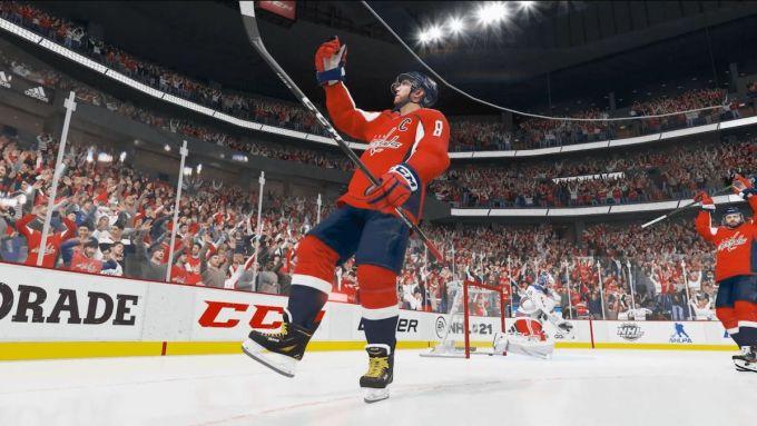EA Sports NHL 21 Game
