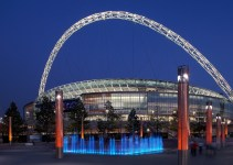 Wembley Stadium, Wembley, London.