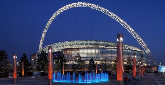 Wembley Stadium, Wembley, London.