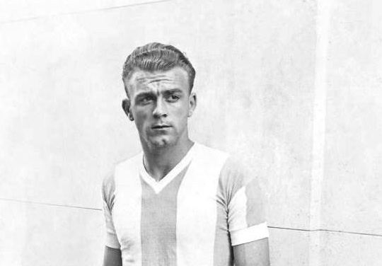 Photo of Alfredo Di Stéfano in 1947 - Best Soccer Player