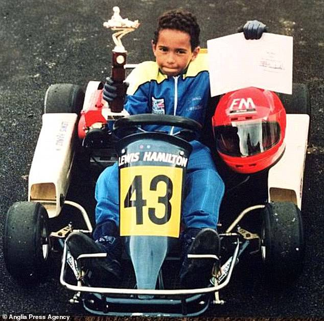 Lewis Hamilton Childhood Photo