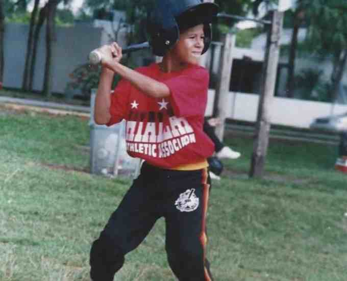 Manny Machado's Childhood Photo