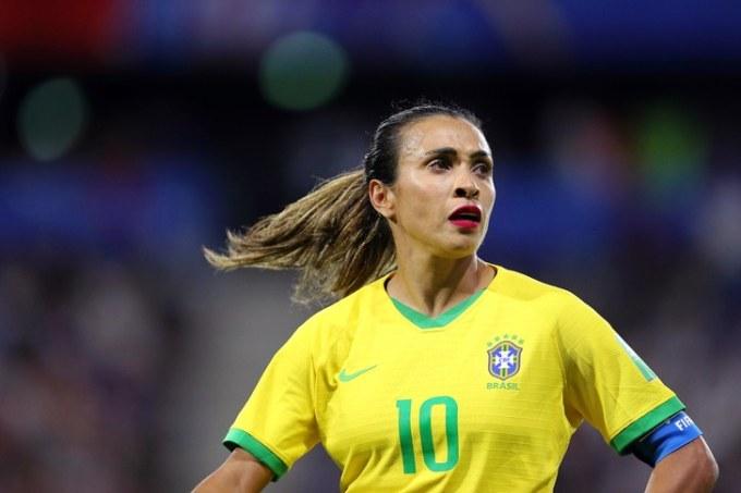 Marta Vieira da Silva - Female Football Soccer Player