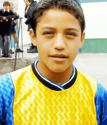 Alexis Sanchez Childhood Photo