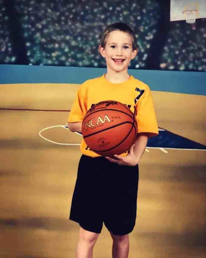 Gordon Hayward Childhood Photo