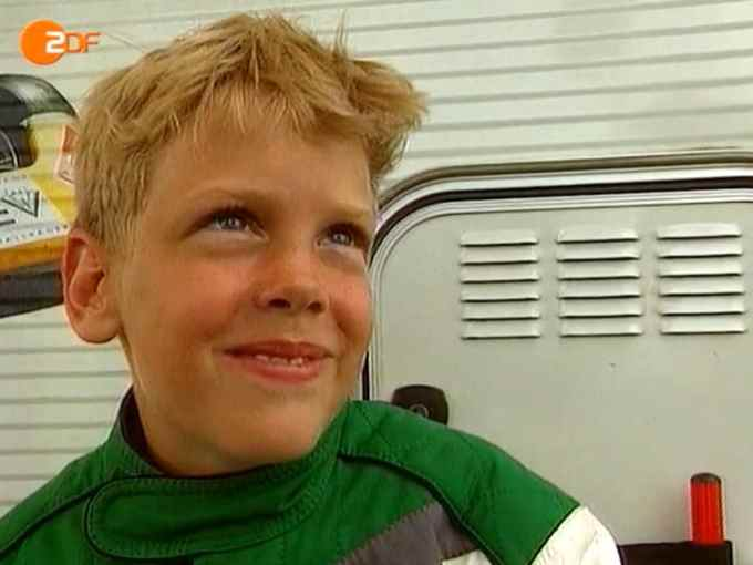 Sebastian Vettel Childhood Photo