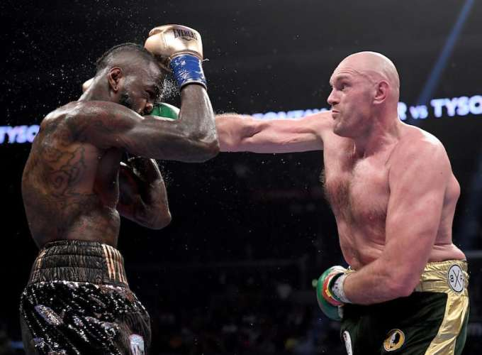 Photo of Tyson Fury vs Deontay Wilder