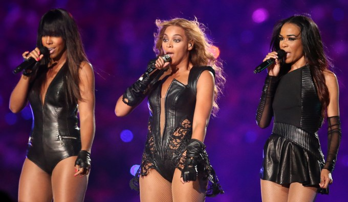 Destiny Child Super Bowl XLVII Halftime Performance