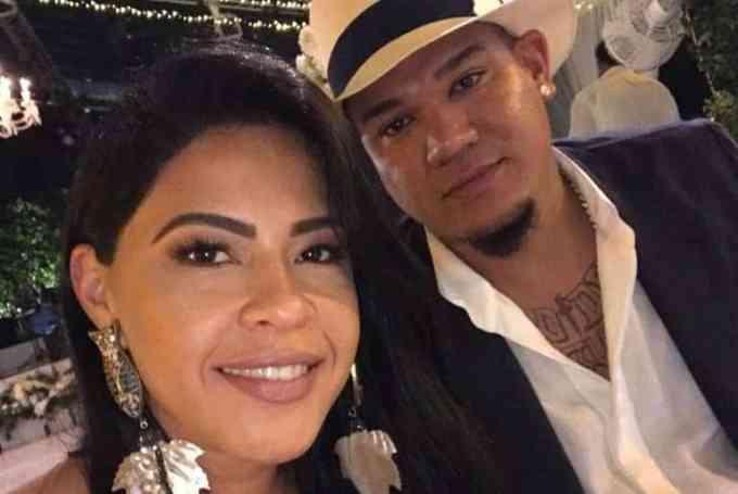 Photo of Felix Hernandez with Sandra Hernandez