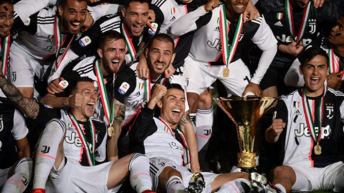 Juventus 2018-19 Serie A champions