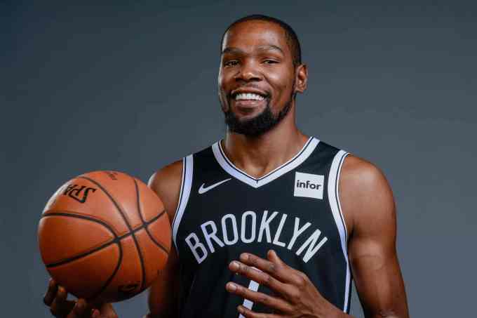 Kevin Durant Net Worth – Photo with the Brooklyn Nets