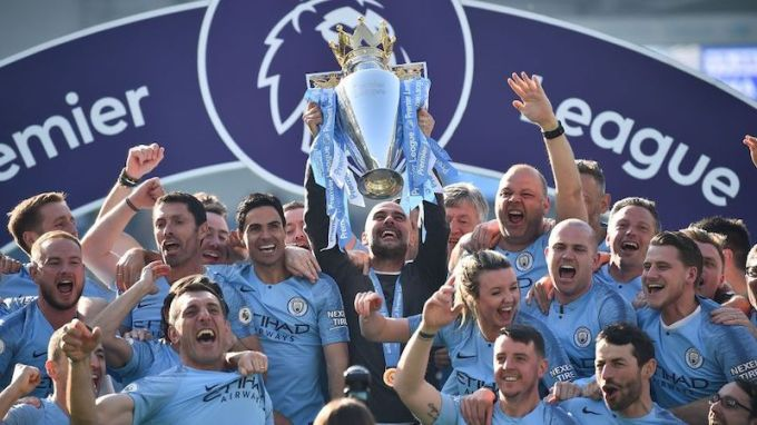 Manchester City, champions, 2018/2019 Premier League Season