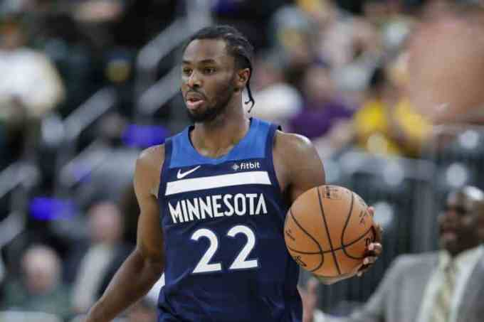 Minnesota Timberwolves' Andrew Wiggins