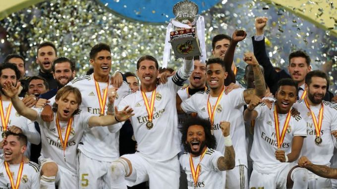 Real Madrid wins Spanish Super Cup in January
