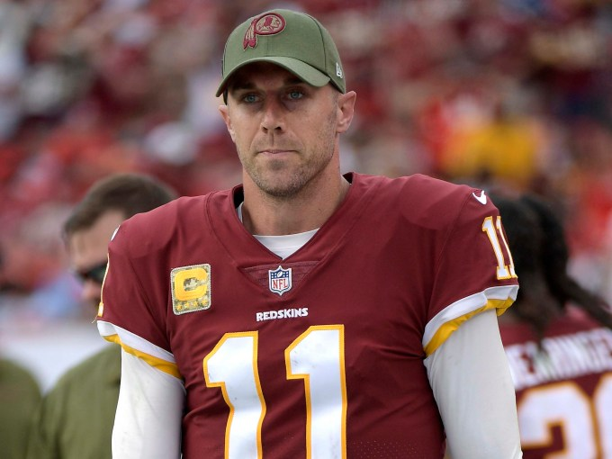 Photo of Washington Redskins' Alex Smith