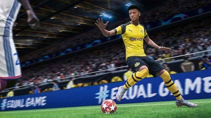 FIFA 20 - EA SPORTS game PS4 PlayStation 4