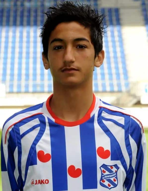 Hakim Ziyech early football career with SC Heerenveen.jpg