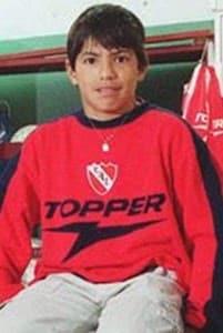 Sergio Aguero childhood photo