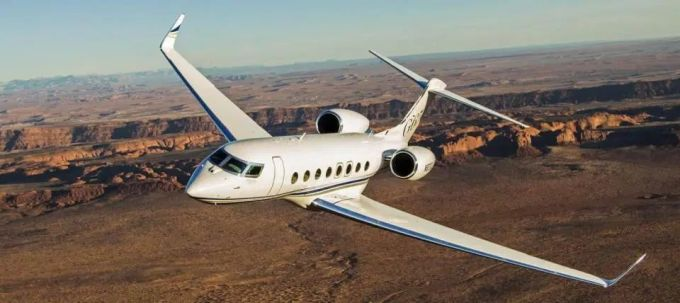 Cristiano Ronaldo's Private Jet - Gulfstream G650