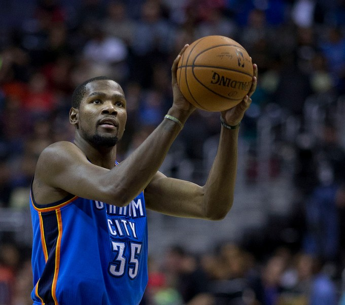 Kevin durant free throw 2014 - Oklahoma