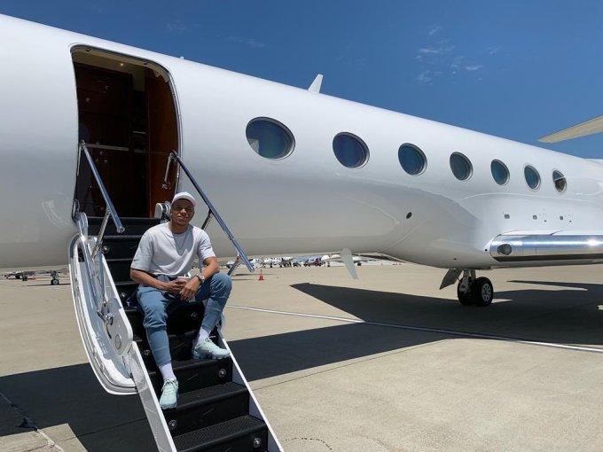 Kylian Mbappe Private Jet