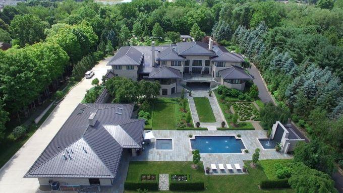 LeBron James House in Akron, Ohio